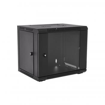 RMWC9UG450-1E armario rack 9U Bastidor de pared Negro - Imagen 1