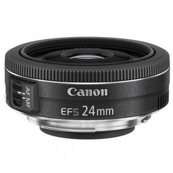 EF-S 24mm f/2.8 STM Objetivo ancho Negro - Imagen 1