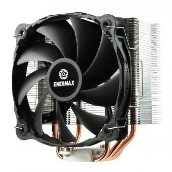 ETS-F40-FS ventilador de PC Procesador Enfriador 14 cm Aluminio, Negro - Imagen 1