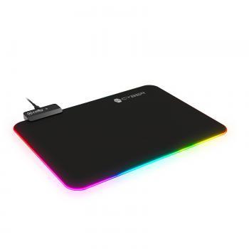 CyberPad Alfombrilla de ratón para juegos Negro - Imagen 1