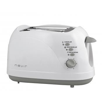 NVR-9823T tostadora 2 rebanada(s) Gris, Blanco 750 W - Imagen 1