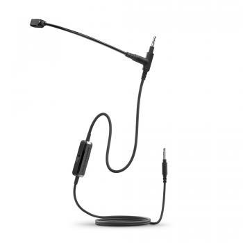 Headphones Microphone 1 Negro Micrófono de contacto - Imagen 1