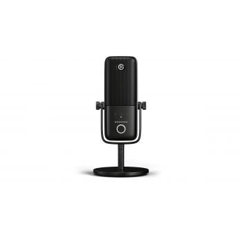 Wave 3 Negro Micrófono de superficie para mesa - Imagen 1