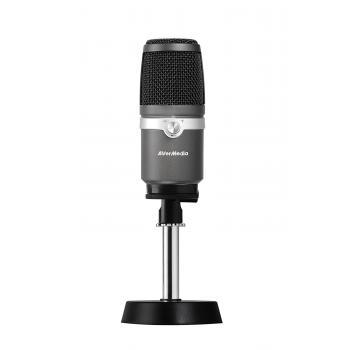 AM310 PC microphone Alámbrico Negro, Plata - Imagen 1