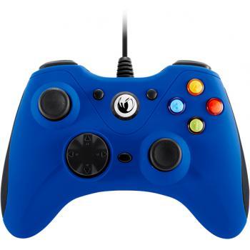 PCGC-100BLUE mando y volante Gamepad PC Analógico USB Azul - Imagen 1