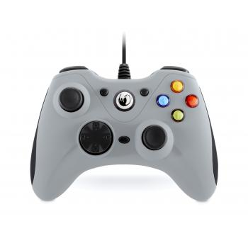 GC-100XF Gamepad PC Analógico/Digital USB Negro, Gris - Imagen 1