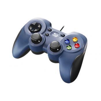 Gamepad F310 Negro, Azul USB 2.0 PC - Imagen 1