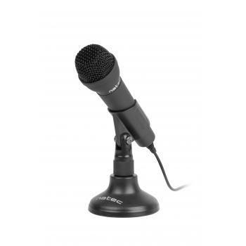 ADDER Negro Micrófono para conferencias - Imagen 1