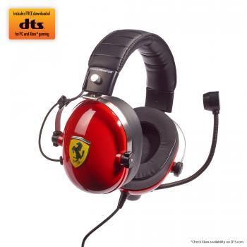 T.Racing Auriculares Diadema Conector de 3,5 mm Negro, Rojo, Acero inoxidable, Amarillo - Imagen 1