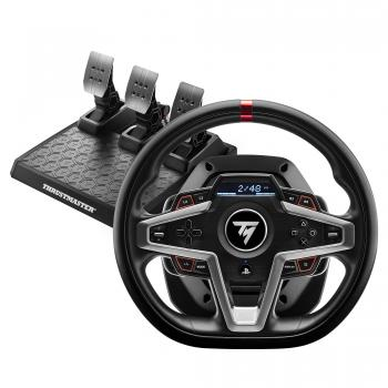 T248 Negro Volante + Pedales PC, PlayStation 4, PlayStation 5 - Imagen 1