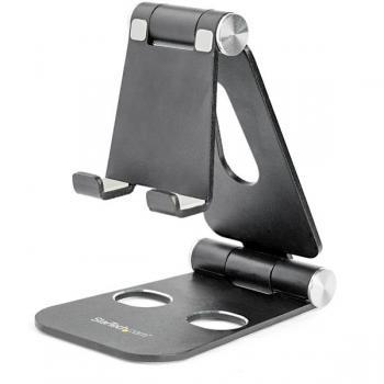 Soporte para Tablet y Teléfono Móvil - Universal - Multiángulo - de Aluminio - Imagen 1