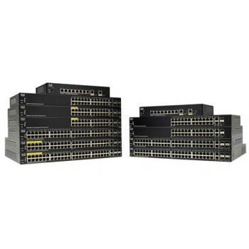 SG250-26HP-K9-EU switch Gestionado L2 Gigabit Ethernet (10/100/1000) Energía sobre Ethernet (PoE) Negro - Imagen 1