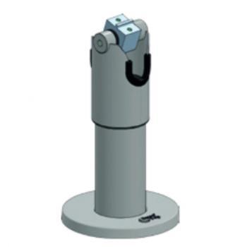 SpacePole DTP102 Soporte activo para teléfono móvil Tablet/UMPC Negro - Imagen 1