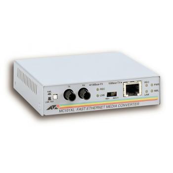 100TX to 100FX (ST) Multi-Mode Media Converter convertidor de medio 100 Mbit/s - Imagen 1