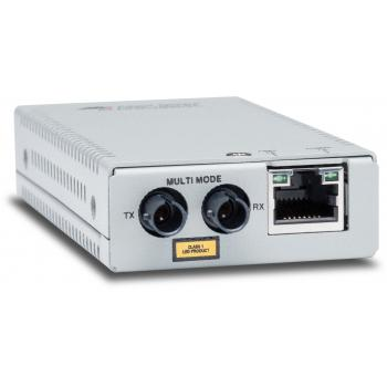 AT-MMC2000/ST-960 convertidor de medio 1000 Mbit/s 850 nm Multimodo Gris - Imagen 1
