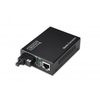 Convertidor de medios Bidireccional Fast Ethernet RJ45 / SC - Imagen 1