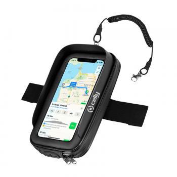 RideMagnet Soporte pasivo Teléfono móvil/smartphone Negro, Transparente - Imagen 1