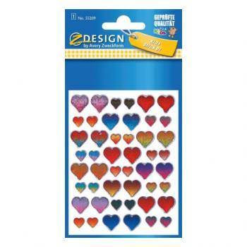 55209 etiqueta decorativa engomada Papel Multicolor Permanente 48 pieza(s) - Imagen 1