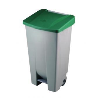 DJP23410 cubo de basura Rectangular Verde, Gris - Imagen 1