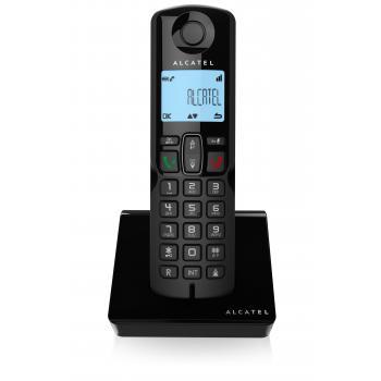 S250 Teléfono DECT Identificador de llamadas Negro - Imagen 1