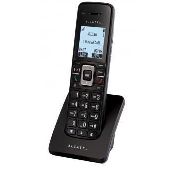 IP15 DECT telephone handset Identificador de llamadas Negro - Imagen 1