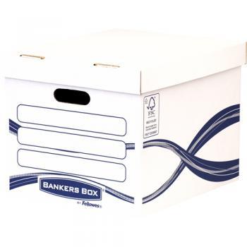 4460801 caja de almacenaje Rectangular Papel Azul, Blanco - Imagen 1
