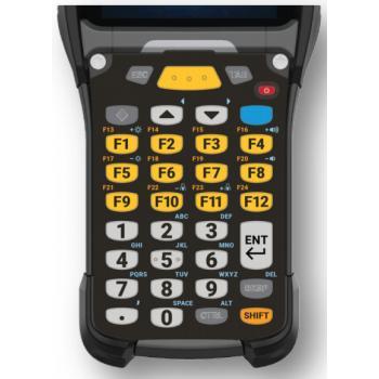 KYPD-MC9334FNR-01 teclado para móvil Alfanumérico Inglés Negro, Gris, Amarillo - Imagen 1