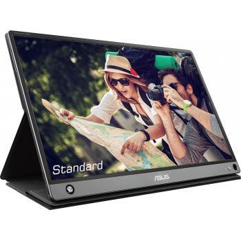 "MB16AMT 39,6 cm (15.6"") 1920 x 1080 Pixeles Multi-touch Multi-usuario Negro, Gris - Imagen 1"