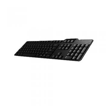KB813 teclado USB QWERTY Español Negro - Imagen 1
