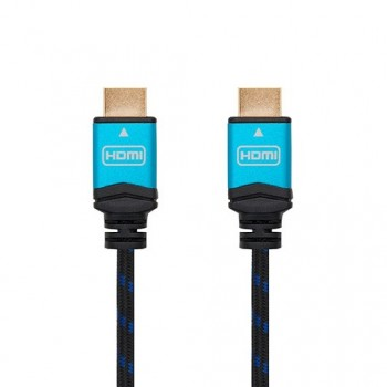 CABLE HDMIA A HDMIA 4K 15M NANOCABLE NEGRO