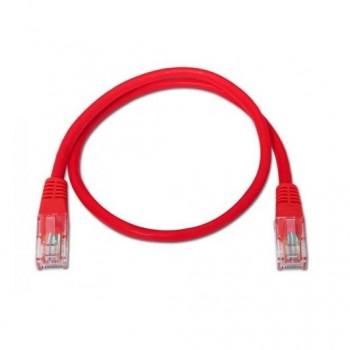 CABLE RED UTP CAT6 RJ45 AISENS 05M ROJO