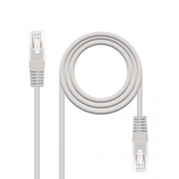 CABLE RED UTP CAT6 RJ45 NANOCABLE 05M